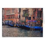Europe, Italy, Venice, gondolas in canal
