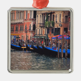 Europe, Italy, Venice, gondolas in canal Christmas Ornament