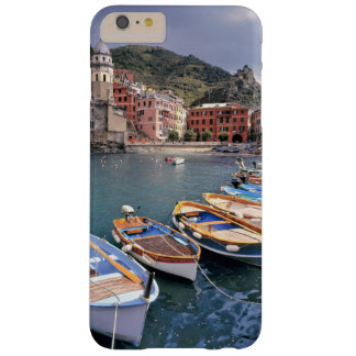 Europe, Italy, Vernazza. Brightly painted boats Barely There iPhone 6 Plus Case