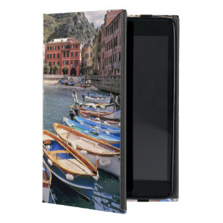 Europe, Italy, Vernazza. Brightly painted boats Case For iPad Mini