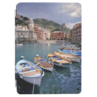 Europe, Italy, Vernazza. Brightly painted boats iPad Air Cover
