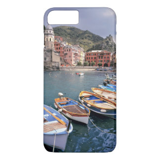 Europe, Italy, Vernazza. Brightly painted boats iPhone 8 Plus/7 Plus Case