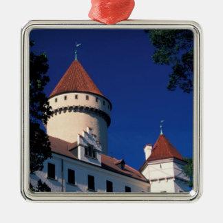 Europe, Konopiste Castle, Czech Republic, statue Christmas Ornament