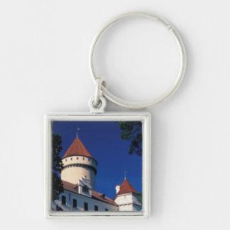 Europe, Konopiste Castle, Czech Republic, statue Key Ring