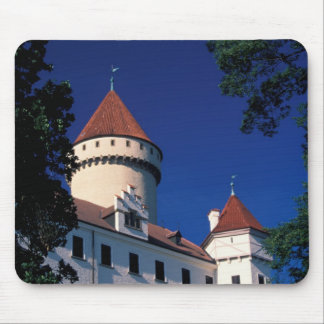 Europe, Konopiste Castle, Czech Republic, statue Mouse Mat