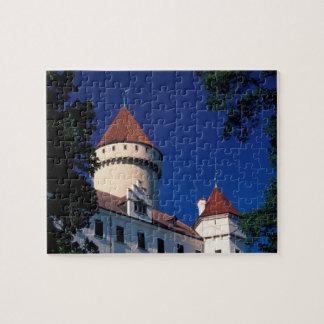 Europe, Konopiste Castle, Czech Republic, statue Puzzle