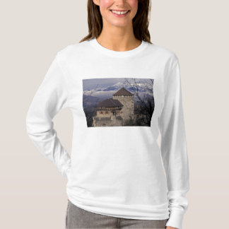 Europe, Liechtenstein, Vaduz. Vaduz castle, T-Shirt