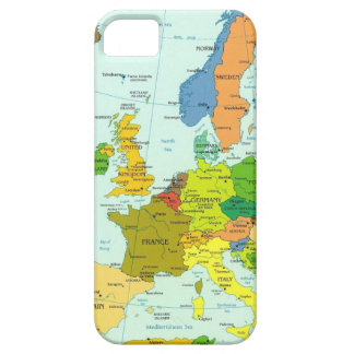 Europe map barely there iPhone 5 case