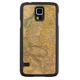 Europe  Map by Worcester Carved Maple Galaxy S5 Case