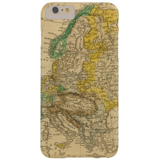 Europe  Map by Worcester Barely There iPhone 6 Plus Case