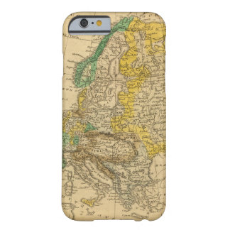 Europe  Map by Worcester Barely There iPhone 6 Case