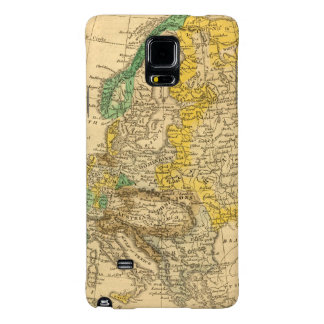 Europe  Map by Worcester Galaxy Note 4 Case