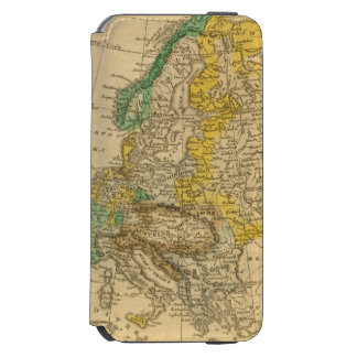 Europe  Map by Worcester Incipio Watson™ iPhone 6 Wallet Case