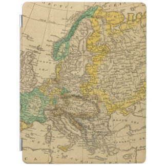 Europe  Map by Worcester iPad Cover