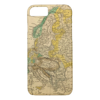 Europe  Map by Worcester iPhone 8/7 Case