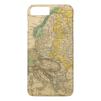 Europe  Map by Worcester iPhone 8 Plus/7 Plus Case