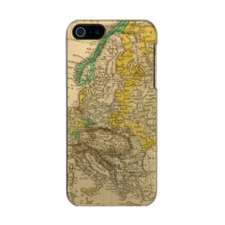 Europe  Map by Worcester Incipio Feather® Shine iPhone 5 Case