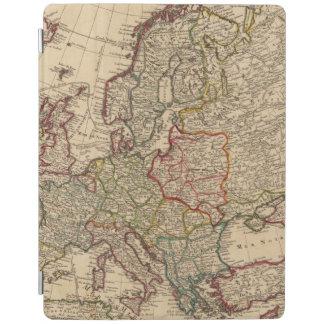 Europe map iPad cover
