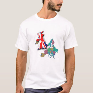 Europe map post Brexit T-Shirt