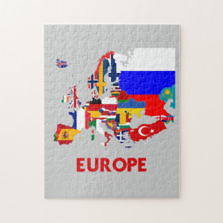 EUROPE MAP PUZZLES