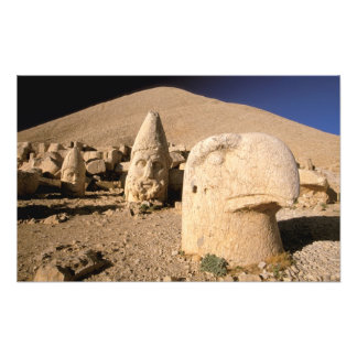 Europe, Middle East, Turkey, Nemrut Dagi Kahta 2 Photo Art