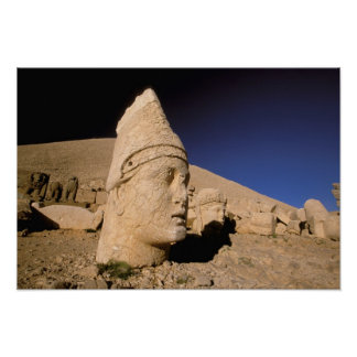 Europe, Middle East, Turkey, Nemrut Dagi Kahta Poster