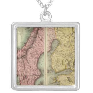 Europe N Silver Plated Necklace