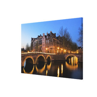 Europe, Netherlands, Holland, Amsterdam, Canvas Print