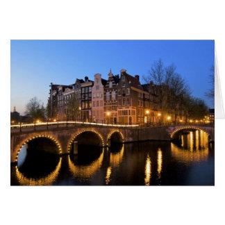 Europe Netherlands Holland Amsterdam Greeting Cards