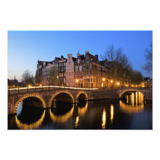 Europe, Netherlands, Holland, Amsterdam, Photo Print