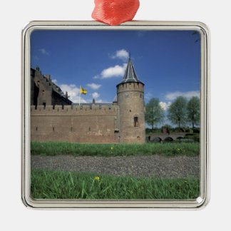 Europe, Netherlands, Muiden Muiden Castle Christmas Ornament