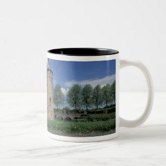 Europe, Netherlands, Muiden Muiden Castle Two-Tone Coffee Mug