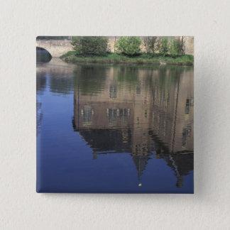 Europe, Netherlands, Vorden Vorden Castle 15 Cm Square Badge