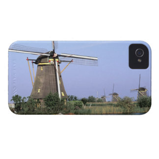 Europe, Netherlands, Zuid Holland, Kinderdijk. 2 Case-Mate iPhone 4 Case