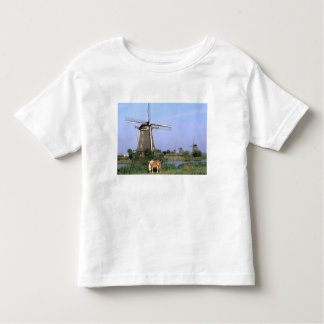 Europe, Netherlands, Zuid Holland, Kinderdijk. 2 Toddler T-Shirt
