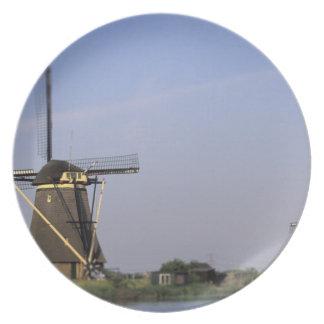 Europe, Netherlands, Zuid Holland, Kinderdijk. Plate