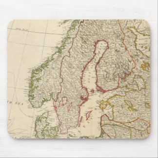 Europe north mouse pad