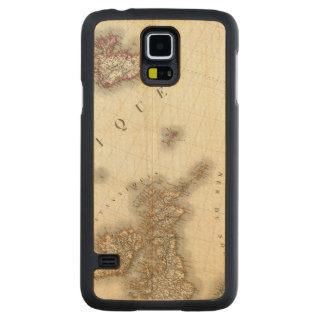 Europe Northwest Carved Maple Galaxy S5 Case