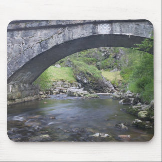 Europe, Norway. Stone Bridge enroute to Bergen Mouse Mat