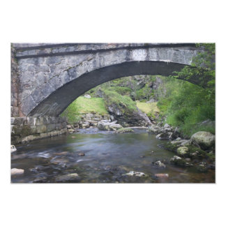 Europe Norway Stone Bridge enroute to Bergen Photograph
