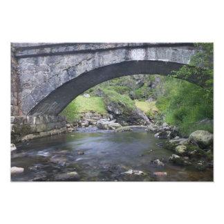 Europe, Norway. Stone Bridge enroute to Bergen Photo Print