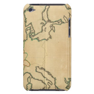 Europe Outline Barely There iPod Cases
