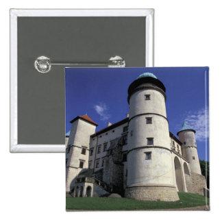 EUROPE, Poland, Carpathian Mts., Nowy Wisnicz 15 Cm Square Badge