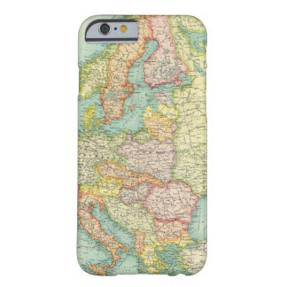 Europe political Map Barely There iPhone 6 Case