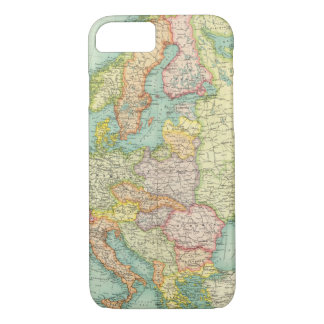 Europe political Map iPhone 7 Case