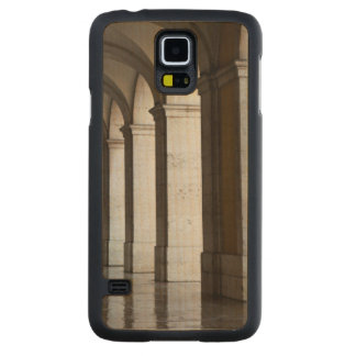 Europe, Portugal, Lisbon. Columns Of The Arcade Carved Maple Galaxy S5 Case