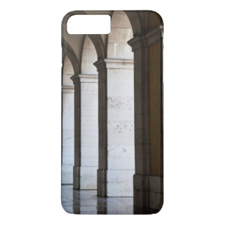 Europe, Portugal, Lisbon. Columns Of The Arcade iPhone 8 Plus/7 Plus Case
