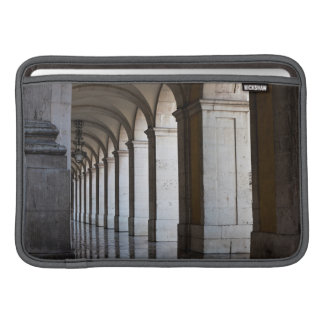 Europe, Portugal, Lisbon. Columns Of The Arcade MacBook Sleeve