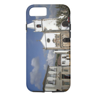 Europe, Portugal, Obidos. Santa Maria Church in iPhone 8/7 Case
