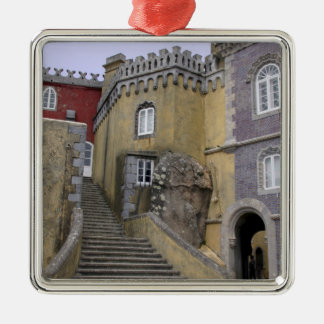 Europe, Portugal, Sintra. The Pena National 2 Christmas Ornament